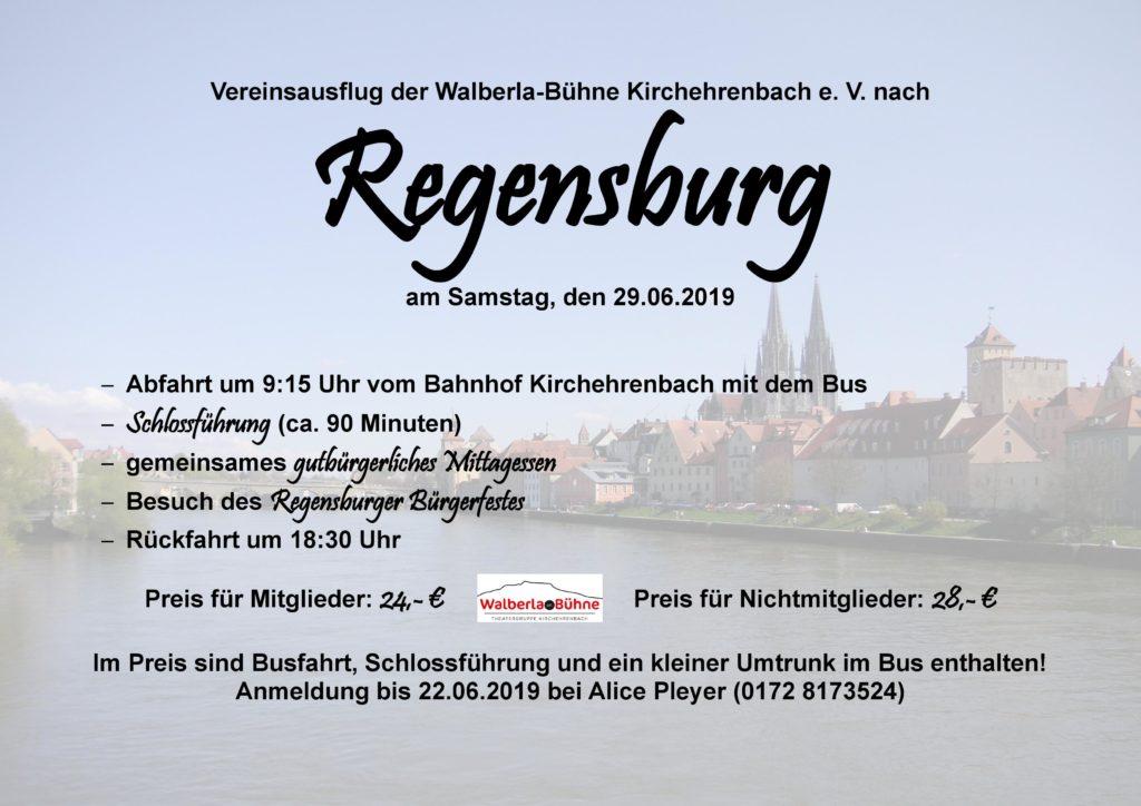 Vereinsausflug @ Regensburg